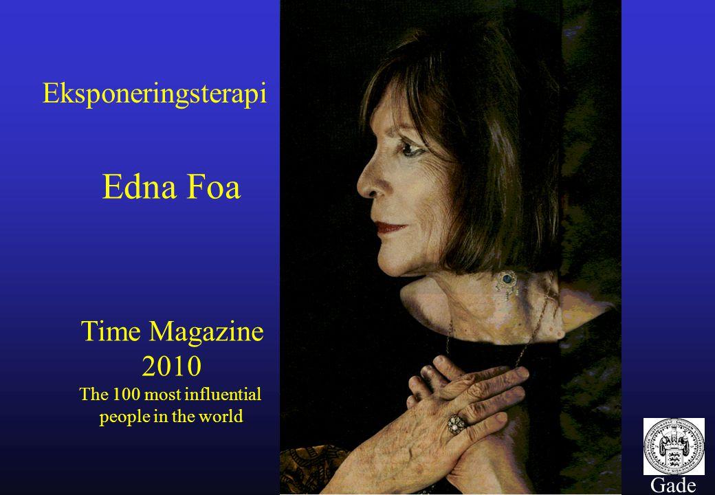 Edna Foa Eksponeringsterapi Time Magazine 2010 Gade