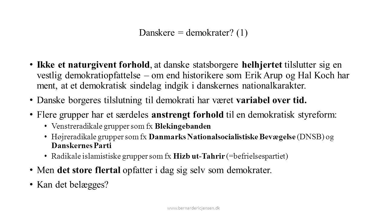 Danskere = demokrater (1)