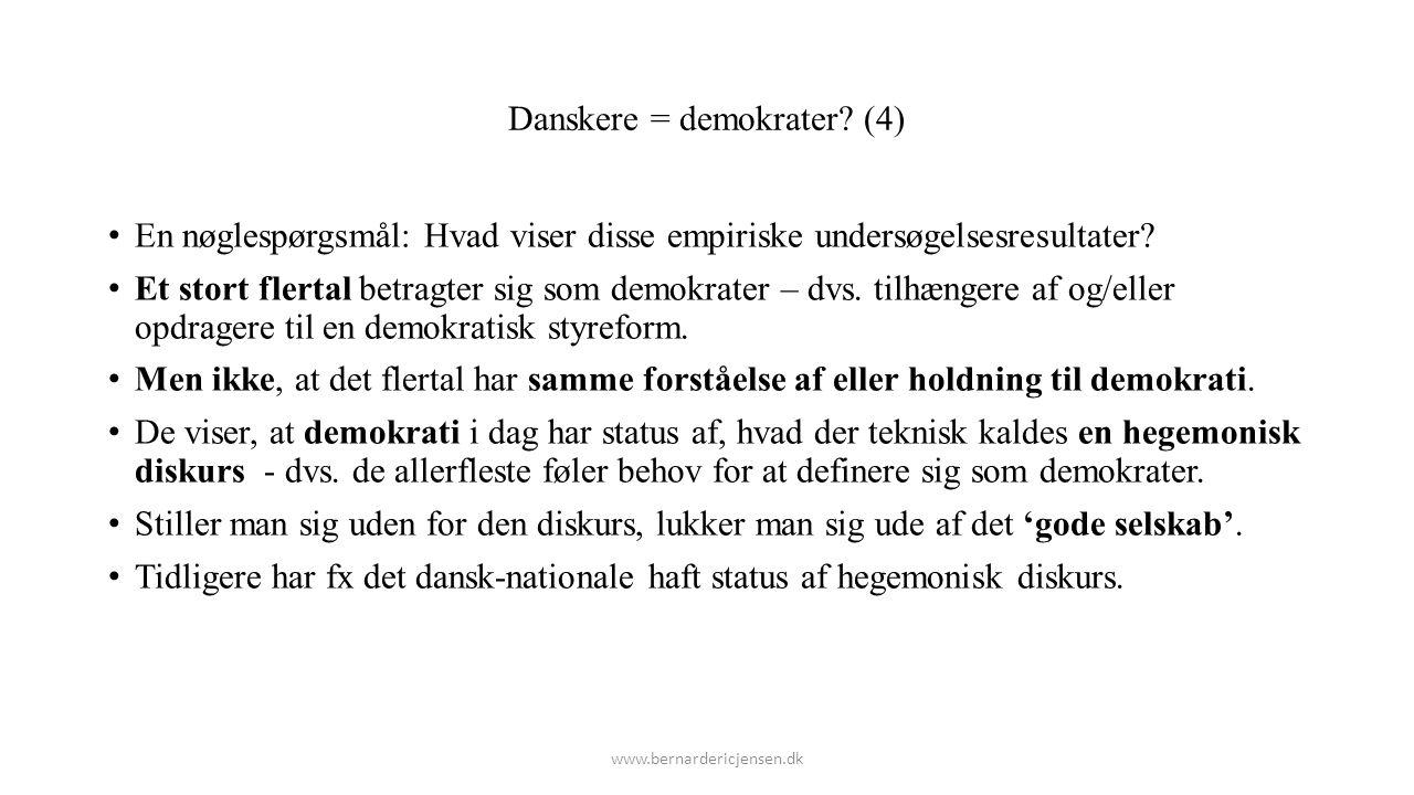 Danskere = demokrater (4)