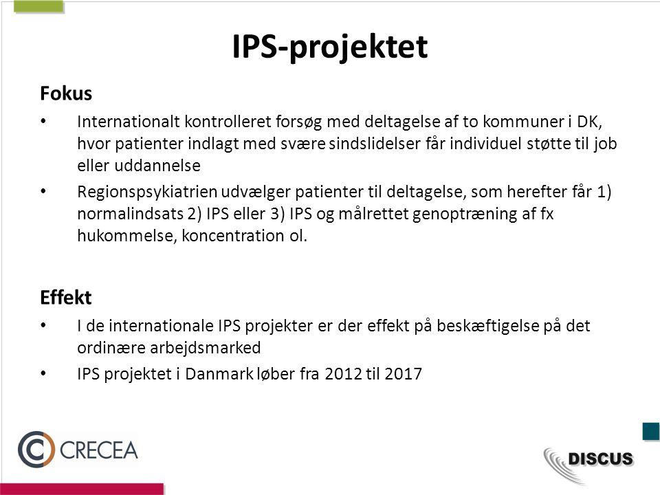 IPS-projektet Fokus Effekt