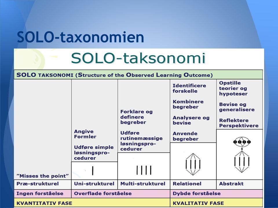 SOLO-taxonomien