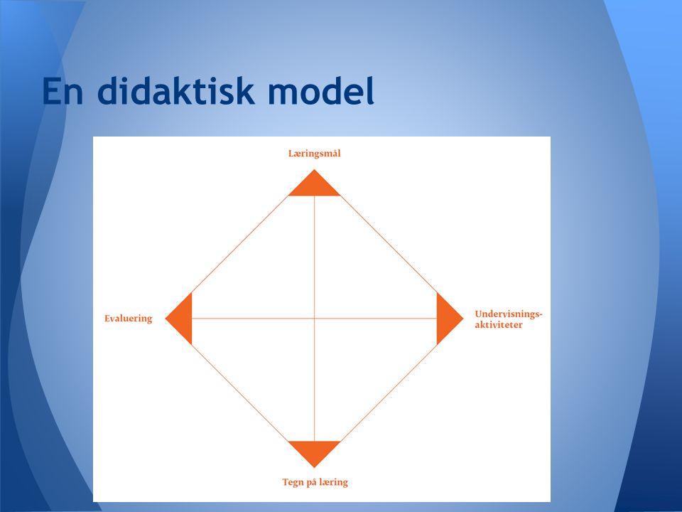 En didaktisk model
