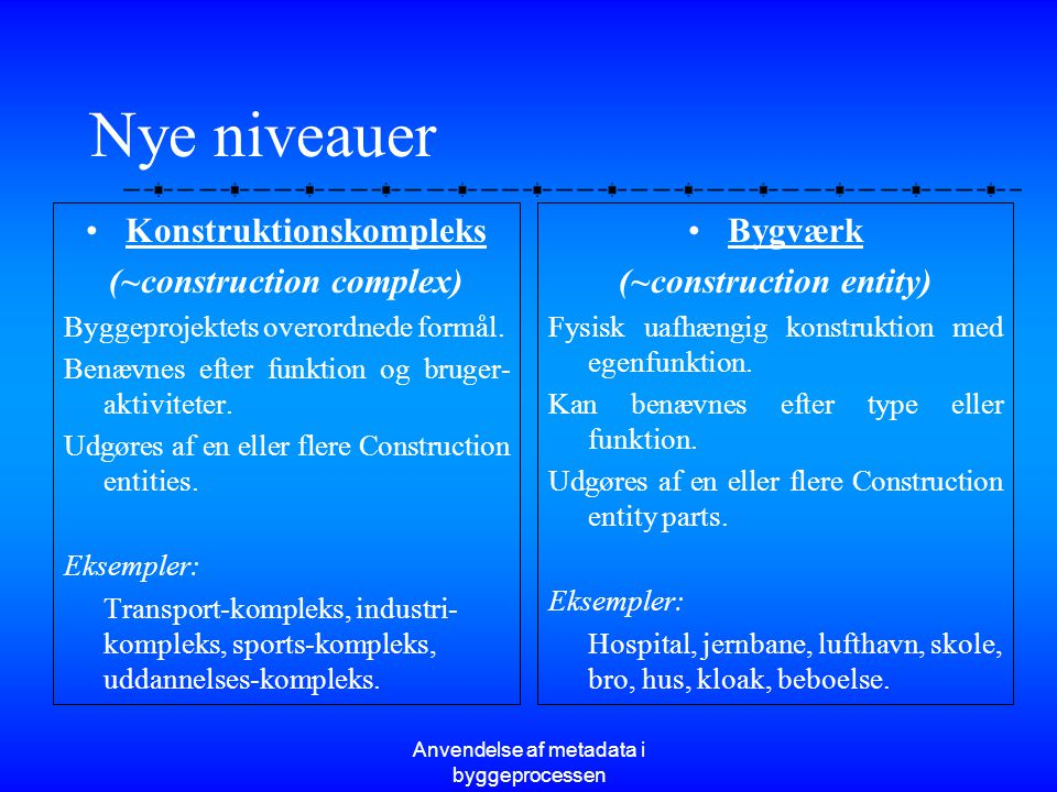 Konstruktionskompleks (~construction complex) (~construction entity)