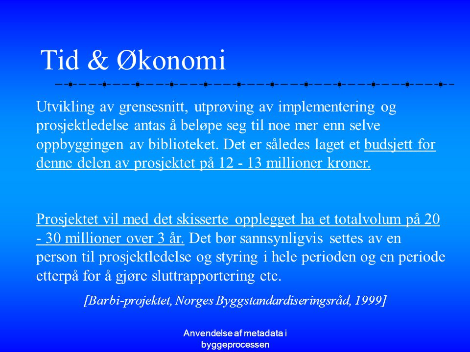 Tid & Økonomi