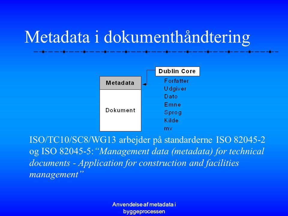 Metadata i dokumenthåndtering