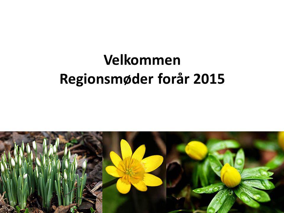 Velkommen Regionsmøder forår 2015