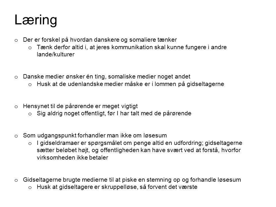 Læring Der er forskel på hvordan danskere og somaliere tænker