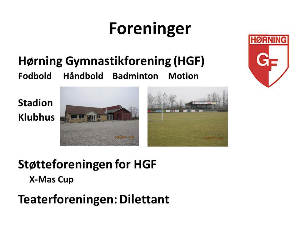 Foreninger Hørning Gymnastikforening (HGF) Støtteforeningen for HGF