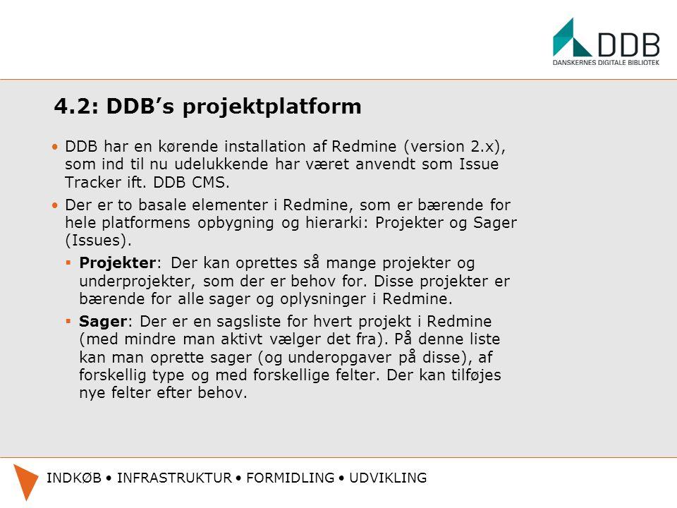 4.2: DDB's projektplatform