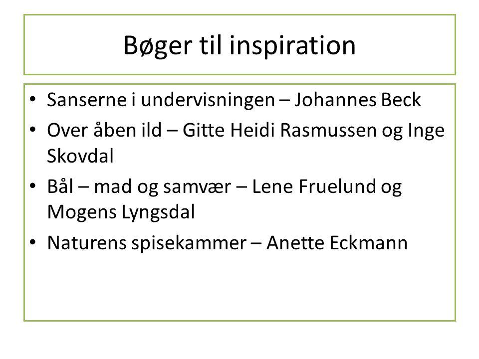 Bøger til inspiration Sanserne i undervisningen – Johannes Beck