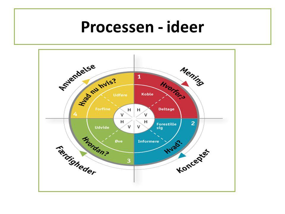 Processen - ideer