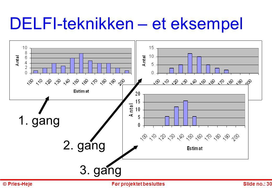 DELFI-teknikken – et eksempel
