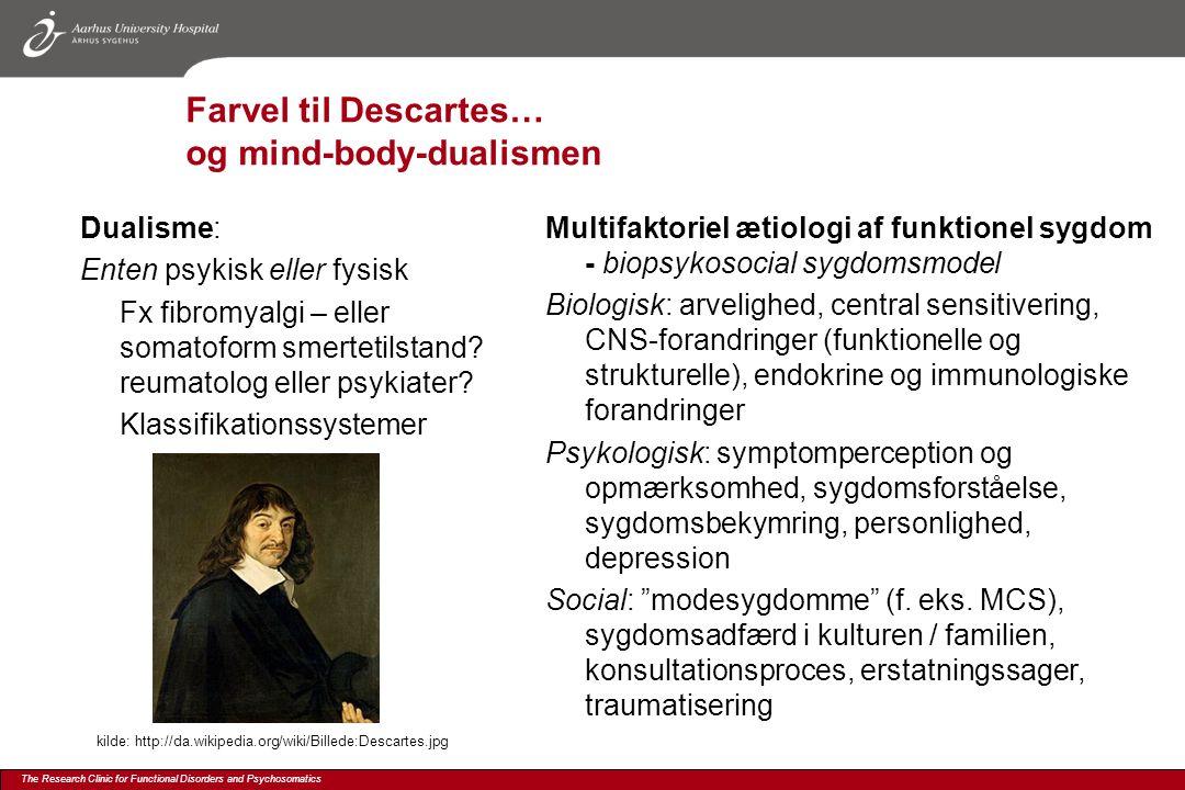 Farvel til Descartes… og mind-body-dualismen