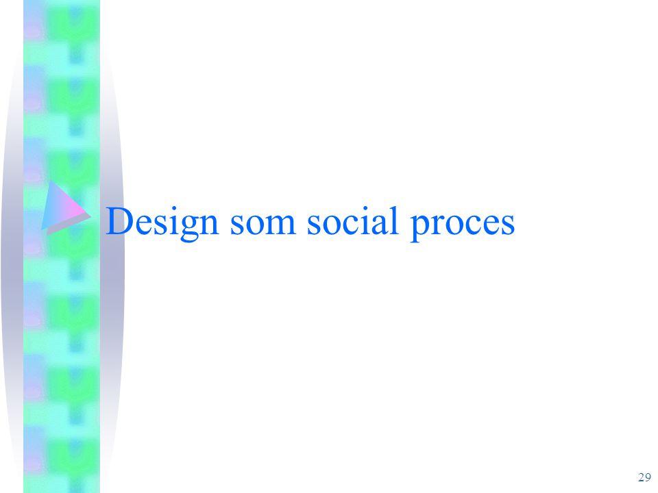 Design som social proces