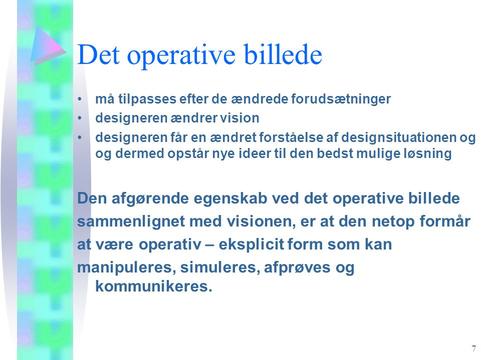 Det operative billede Den afgørende egenskab ved det operative billede