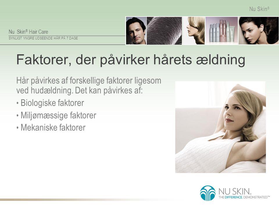 Faktorer, der påvirker hårets ældning