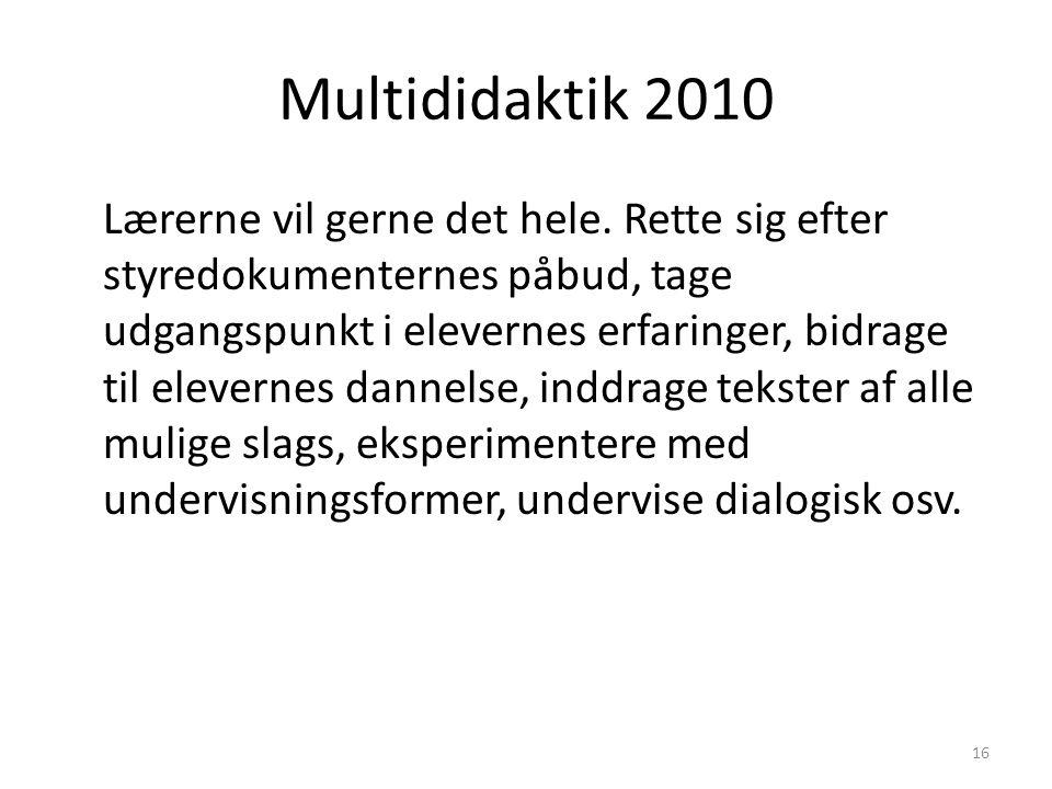 Multididaktik 2010