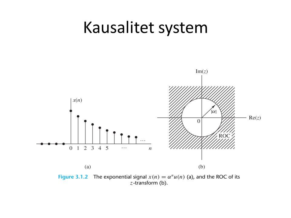 Kausalitet system