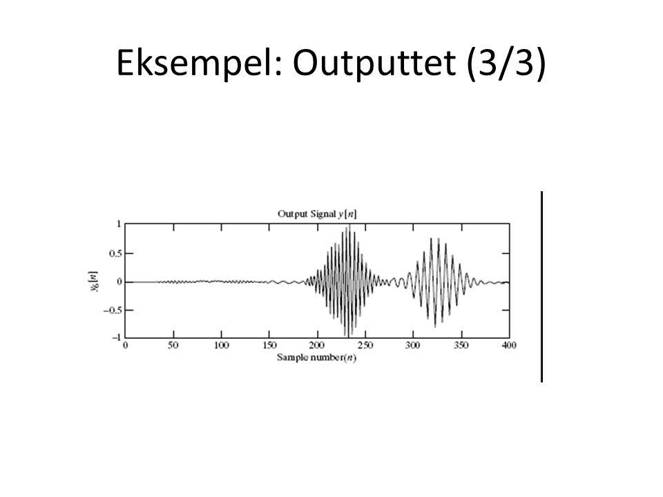 Eksempel: Outputtet (3/3)