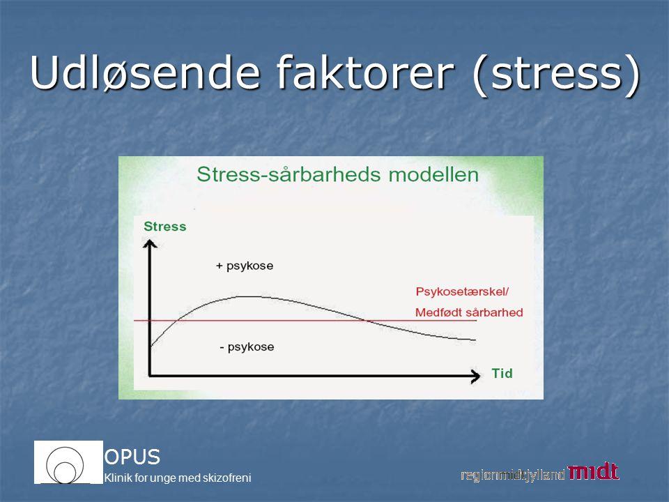 Udløsende faktorer (stress)
