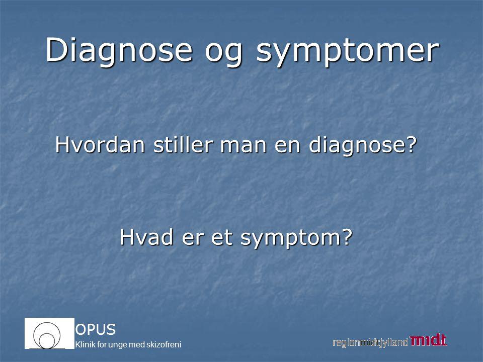Hvordan stiller man en diagnose Hvad er et symptom
