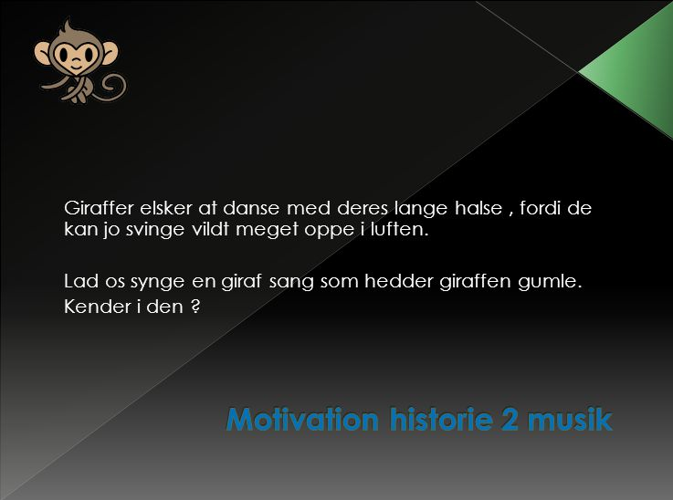 Motivation historie 2 musik