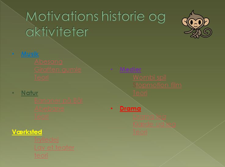 Motivations historie og aktiviteter