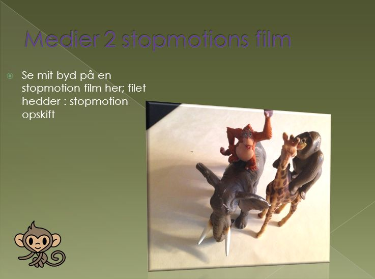 Medier 2 stopmotions film