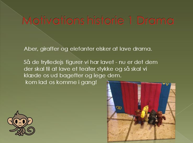 Motivations historie 1 Drama