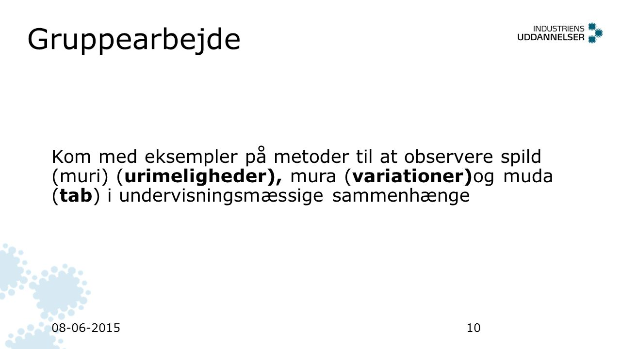 Gruppearbejde