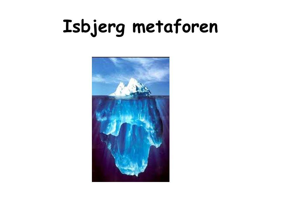 Isbjerg metaforen