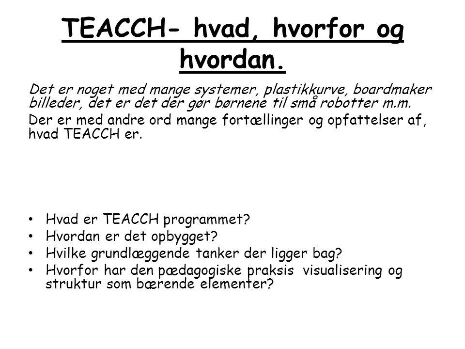 TEACCH- hvad, hvorfor og hvordan.