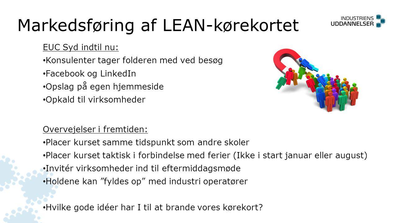 Markedsføring af LEAN-kørekortet