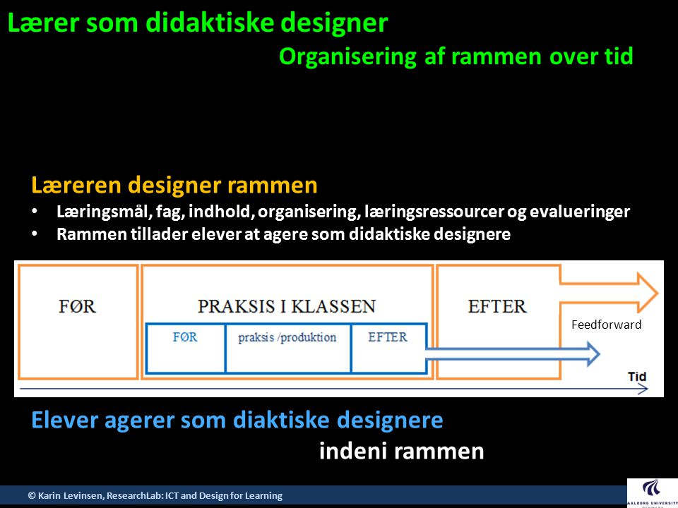Lærer som didaktiske designer