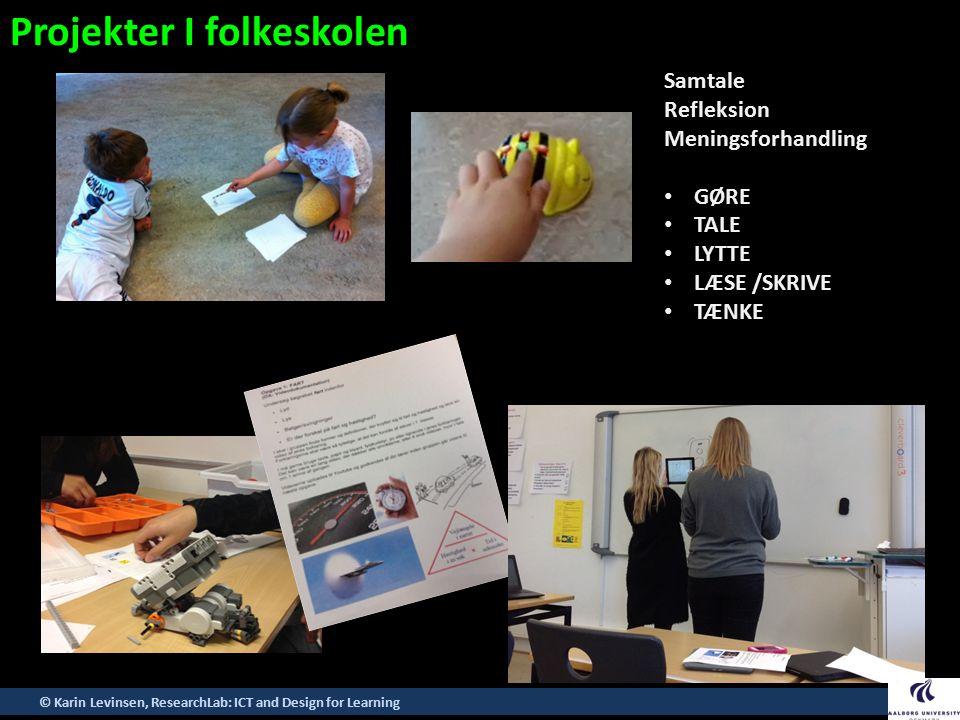 Projekter I folkeskolen