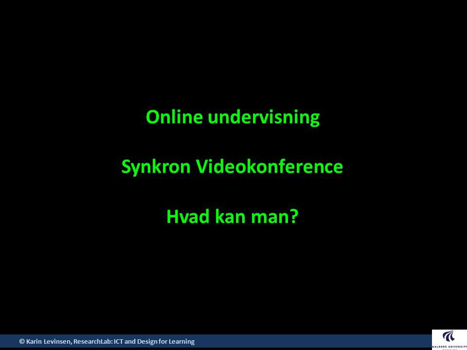 Synkron Videokonference