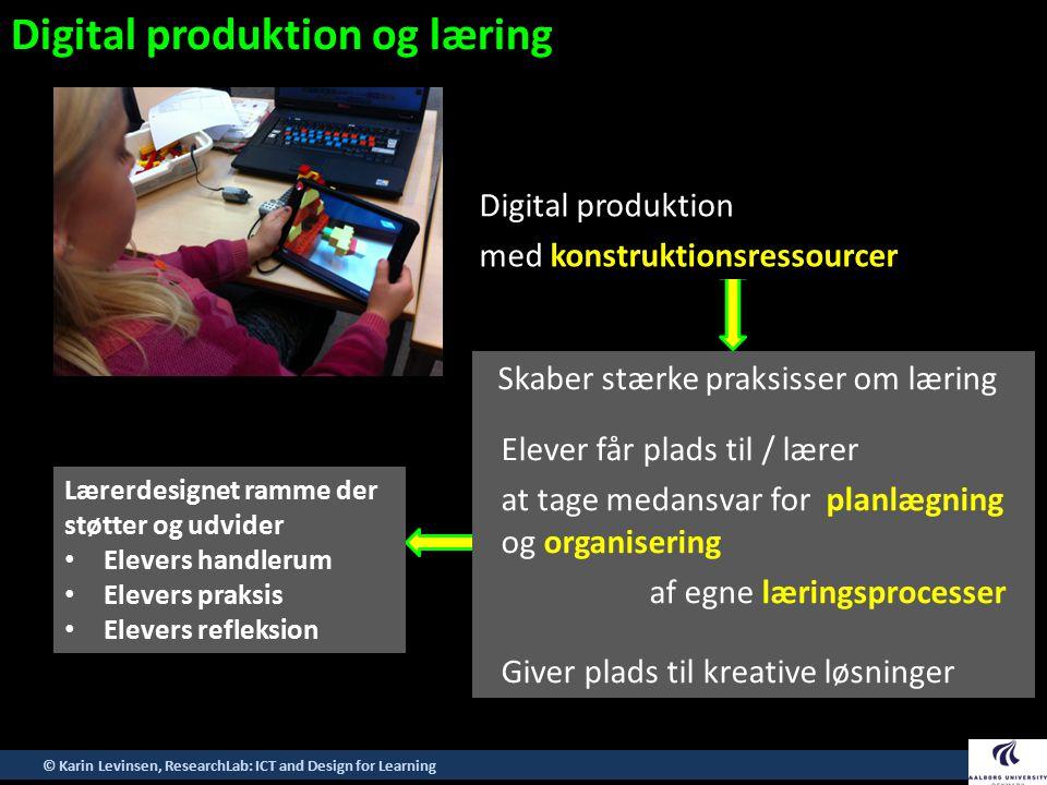 Digital produktion og læring