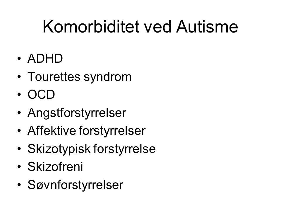 Komorbiditet ved Autisme
