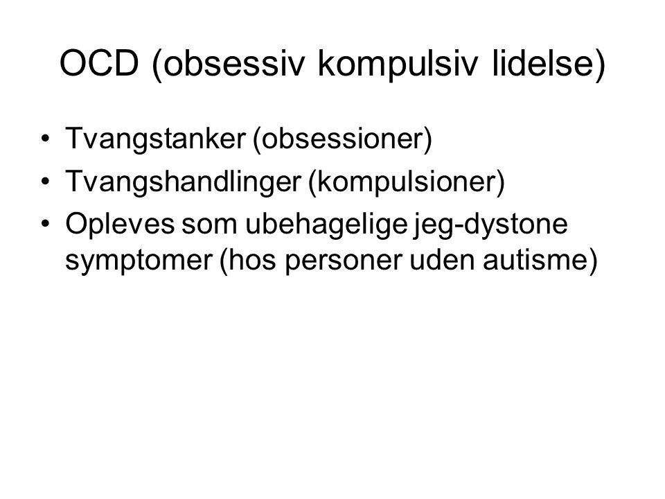 OCD (obsessiv kompulsiv lidelse)