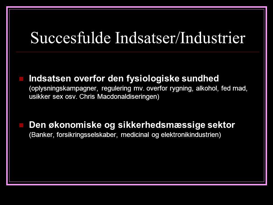 Succesfulde Indsatser/Industrier