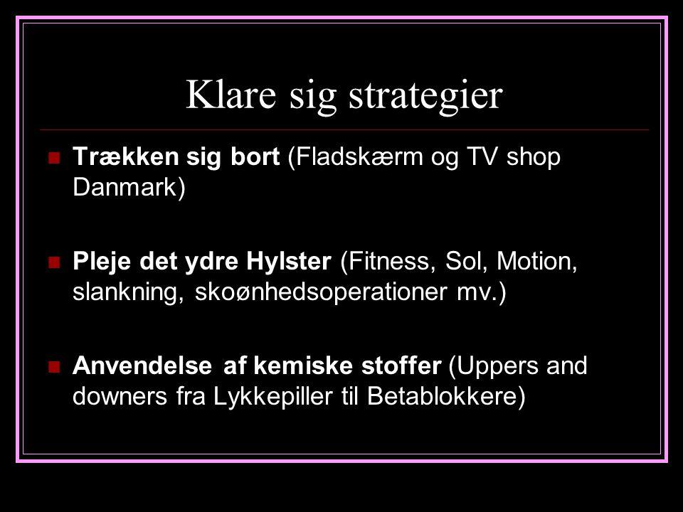 Klare sig strategier Trækken sig bort (Fladskærm og TV shop Danmark)