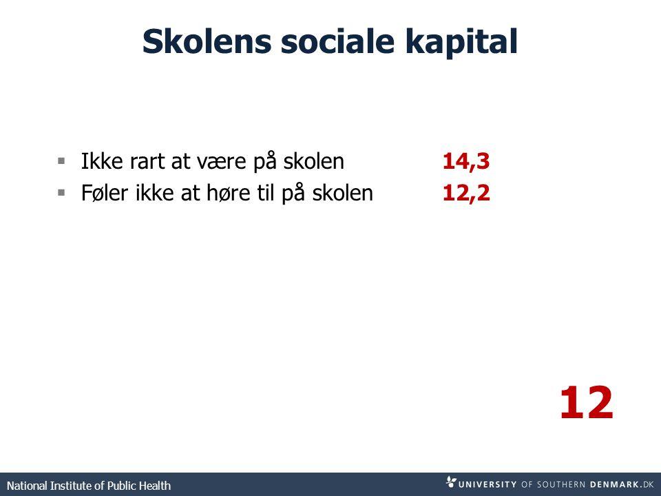 Skolens sociale kapital