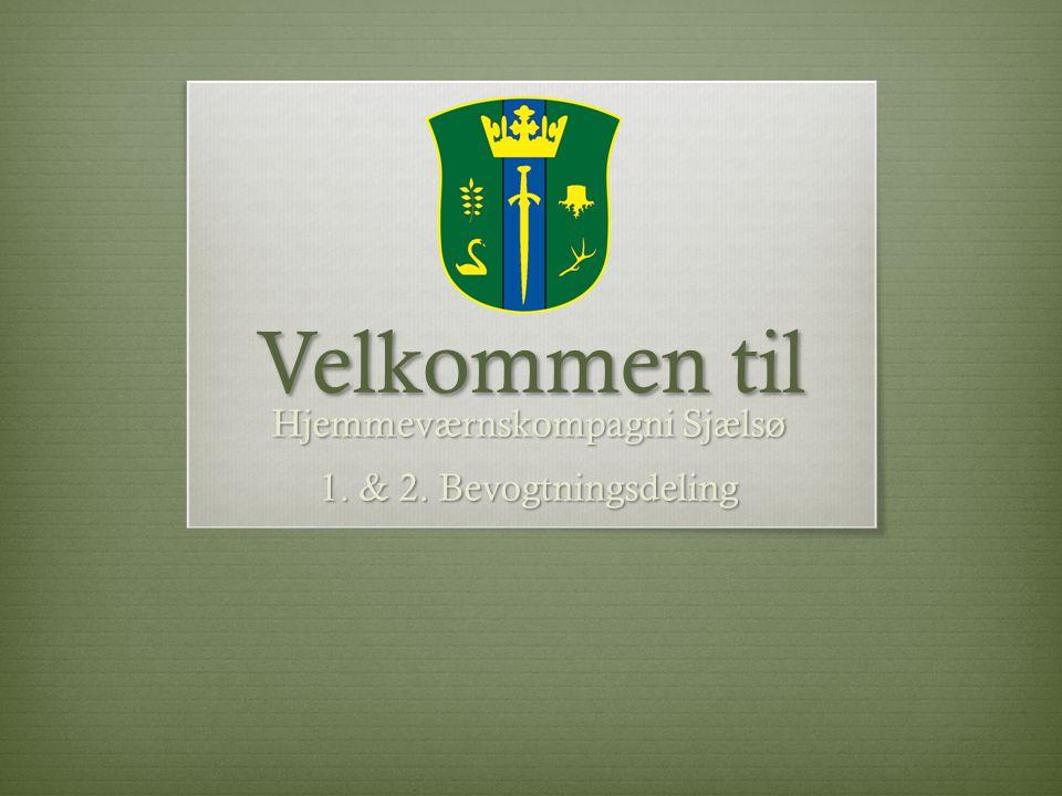 Hjemmeværnskompagni Sjælsø 1. & 2. Bevogtningsdeling