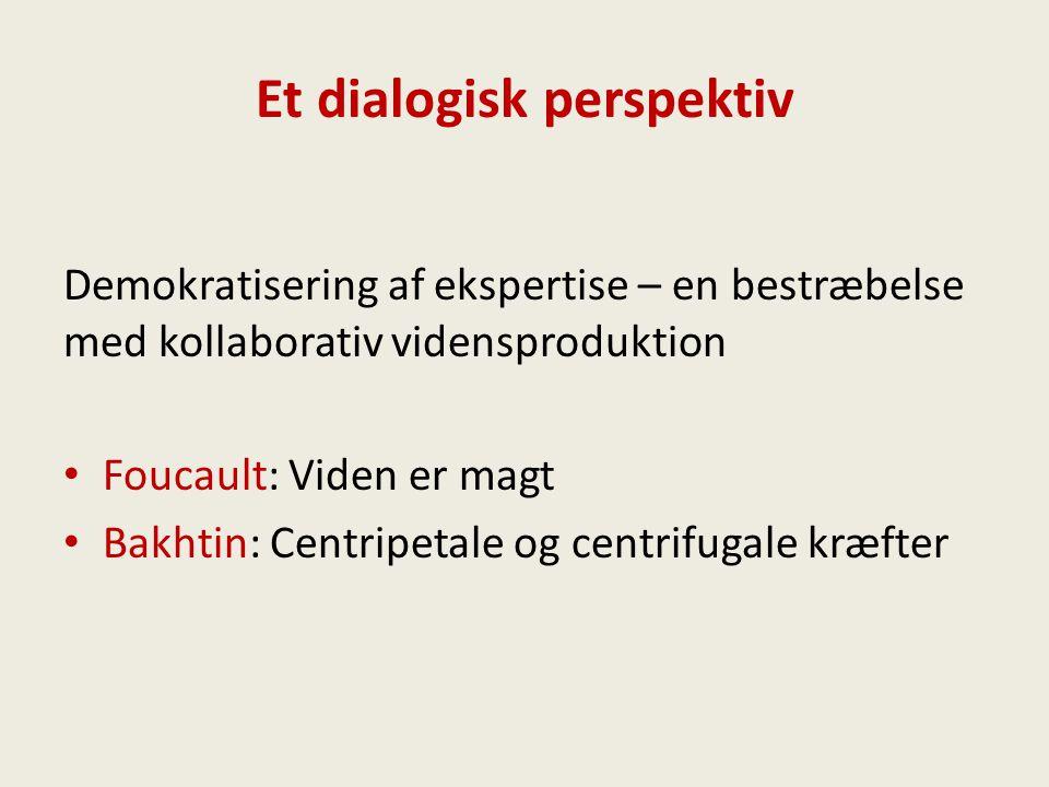 Et dialogisk perspektiv