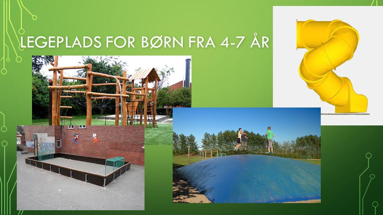 Legeplads for børn fra 4-7 år