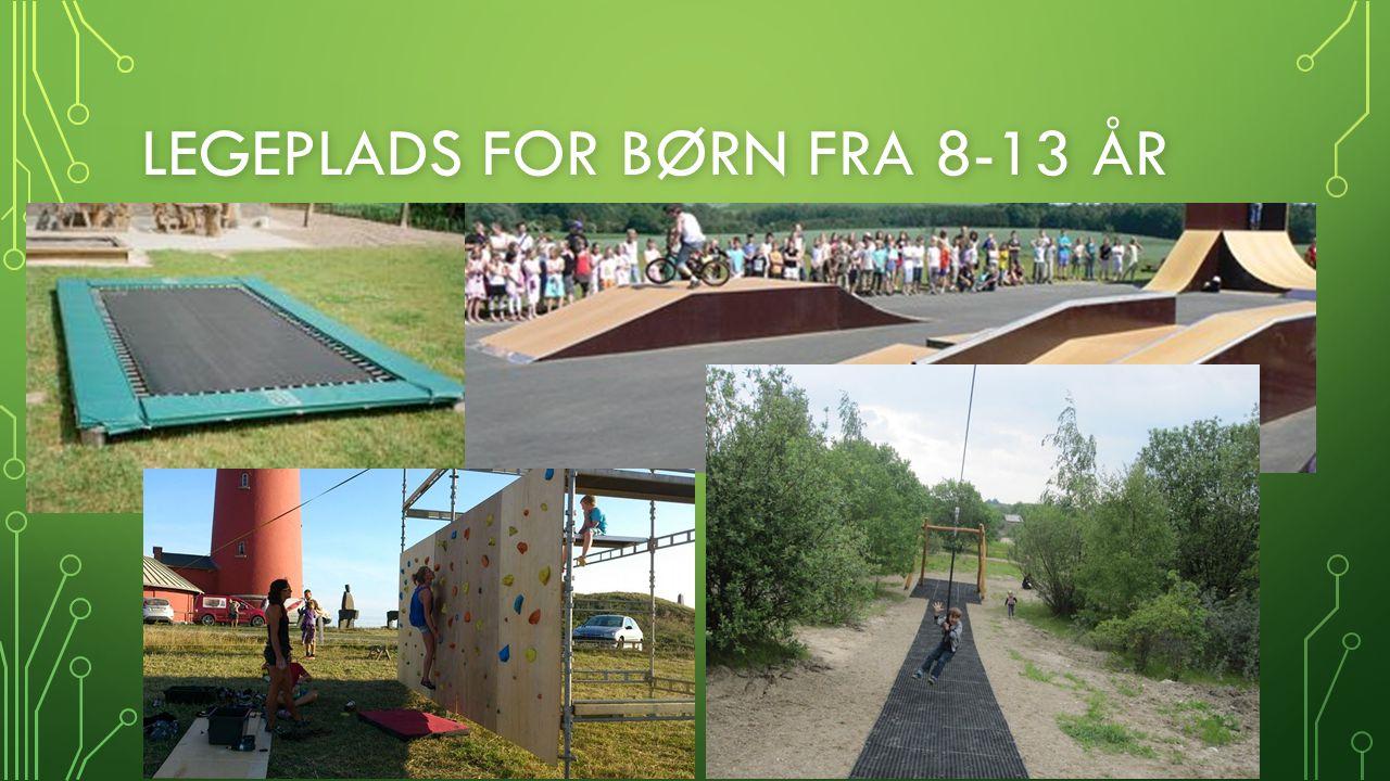 Legeplads for børn fra 8-13 år