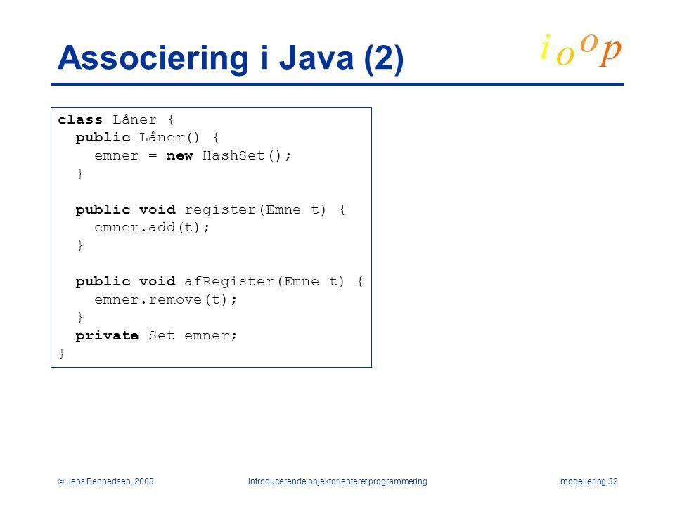 Introducerende objektorienteret programmering