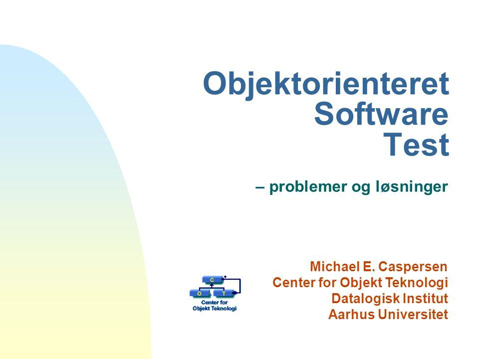 Objektorienteret Software Test