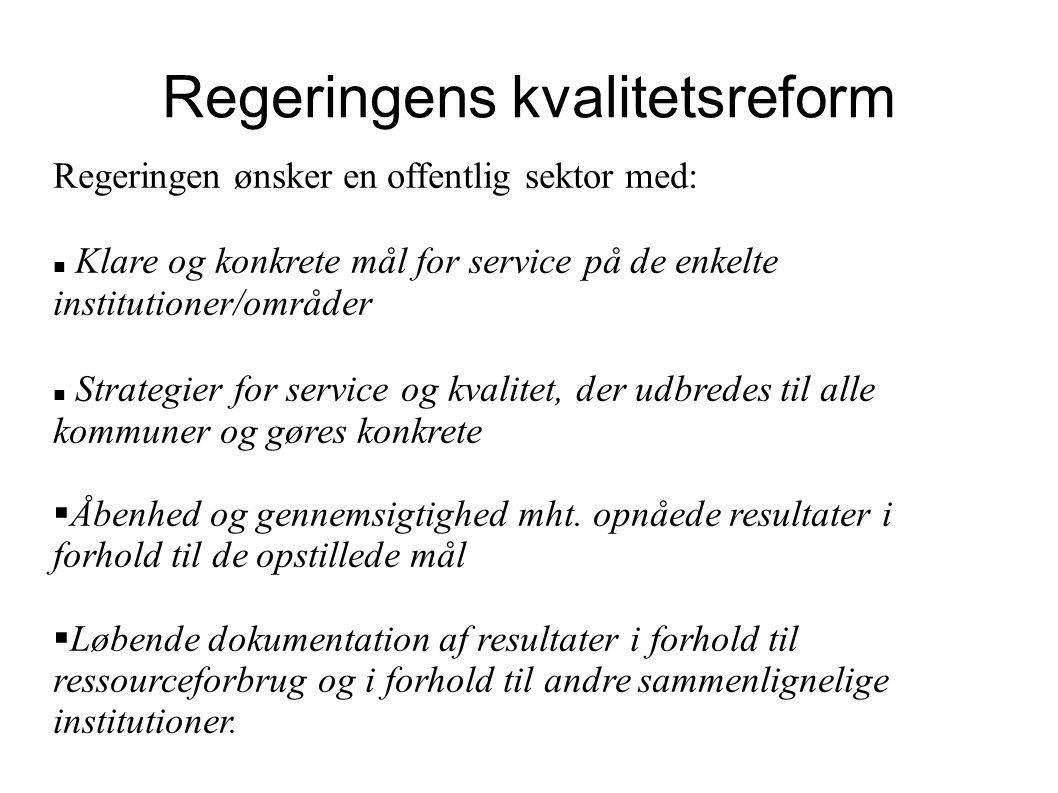 Regeringens kvalitetsreform
