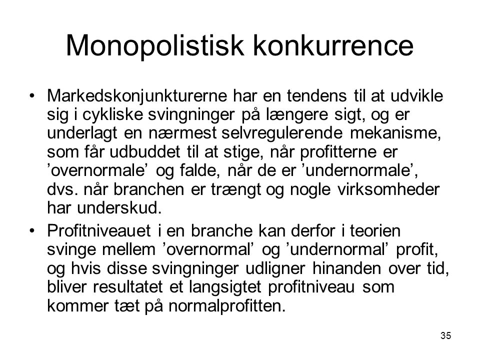 Monopolistisk konkurrence